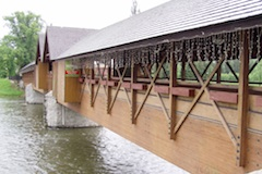 Dreveny most Orava1