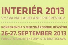 Konferencia Interier2013 vyzva