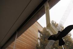 Praskle okno