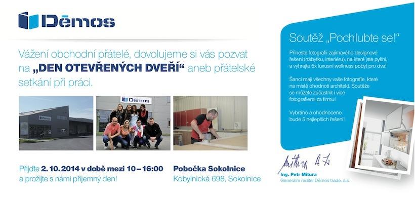 Demos Sokolnice pozvanka