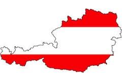 Rakousko mapa