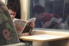 Vo vlaku m