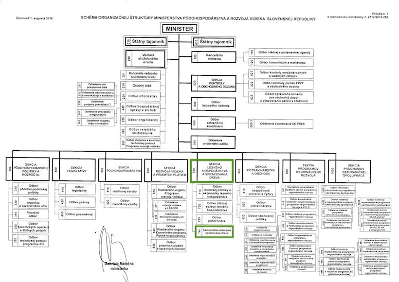Organizacna schema ucinna od 01 08 2016
