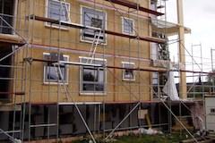 Stavba lesenie