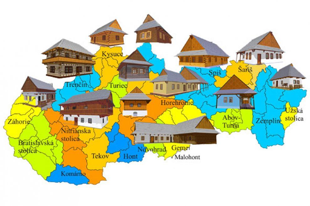 Rozmanitosť foriem slovenského ľudového staviteľstva