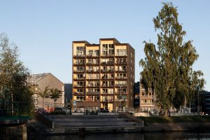 Kajstaden Tall Timber Building