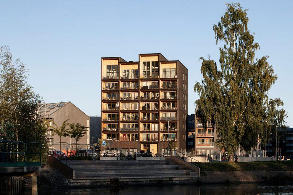 Kajstaden Tall Timber Building