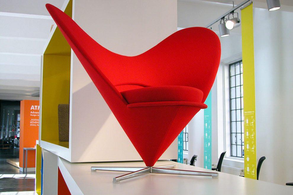 Heart Cone, Verner Panton